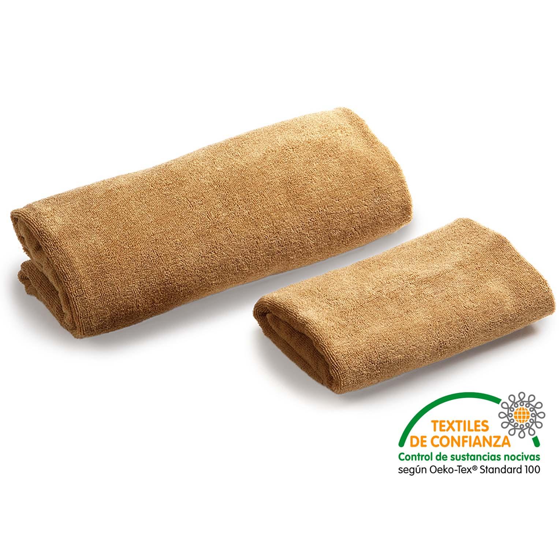 Toallas spa color camel hosteltex ropa para hosteler a - Textiles para hosteleria ...